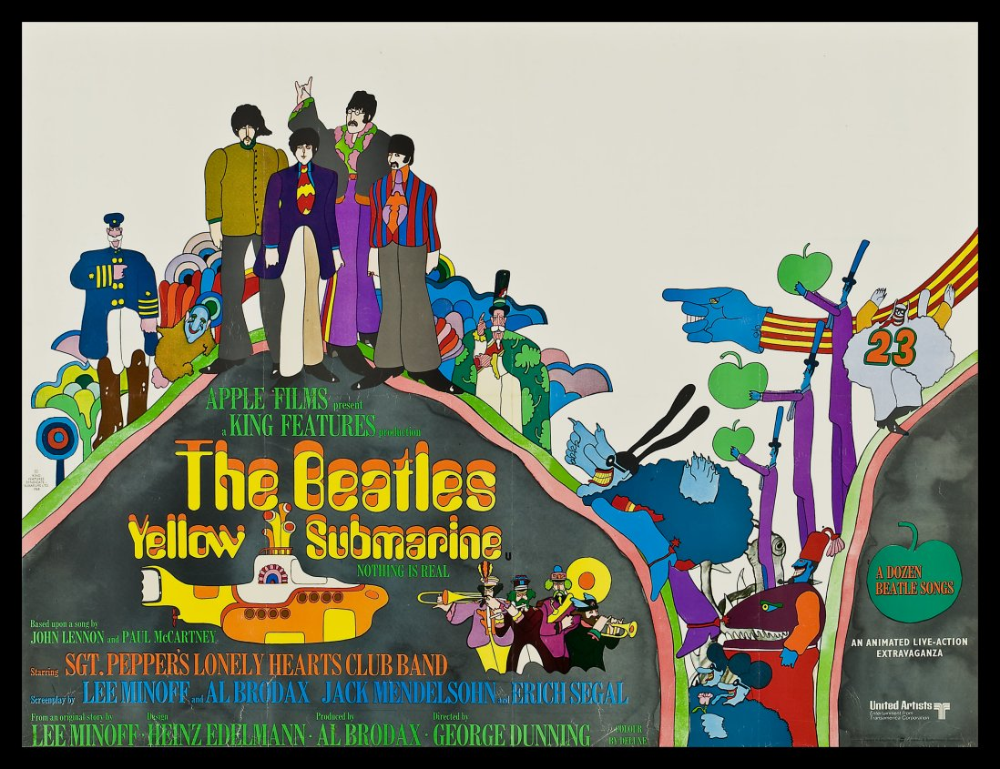 The beatles yellow submarine george dunning