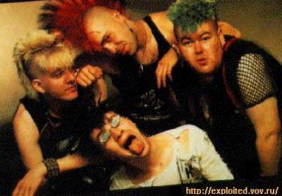 THE REAL PUNK ROCK TOUR -The Exploited