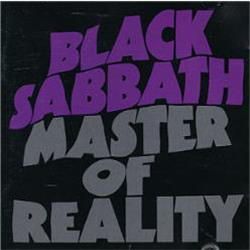 Cover Black Sabbath - Master of Reality