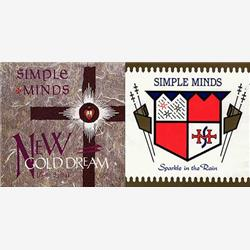 Cover Simple Minds - New Gold Dream (81-82-83-84)/Sparkle In The Rain