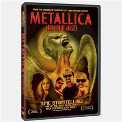 Cover Metallica - DVD Some Kind Of Monster