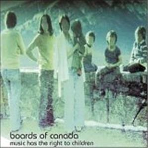 Cover Boards of Canada - Music Has the Right to Children