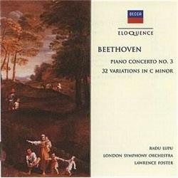 Cover Ludwig van Beethoven - Concerto per pianoforte e orchestra n.3 in do minore op.37