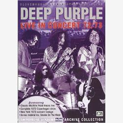 Cover Deep Purple - Live In Concert 1972-73