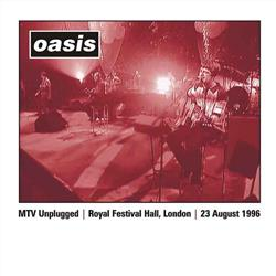 Cover Oasis - Mtv Unplugged 1996