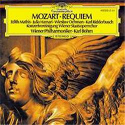 Cover Wolfgang Amadeus Mozart - Requiem in D minor (Philharmonia Orchestra feat. conductor: Carlo Maria Giulini)