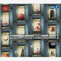 Cover Frank Zappa - Ensemble Modern Plays Frank Zappa: Greggery Peccary and Other Persuasions