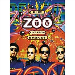 Cover U2 - ZooTV Live From Sydney