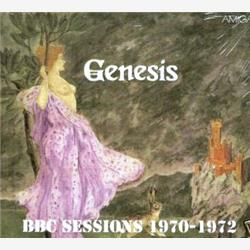 Cover Genesis - BBC Sessions 1970-1972