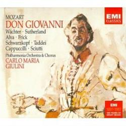 Cover Wolfgang Amadeus Mozart - Don Giovanni