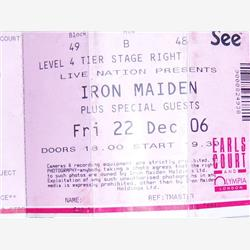 Cover Iron Maiden - Live @ Earls Court, London 22.12.06