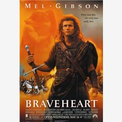 Cover Mel Gibson - Braveheart - Cuore Impavido