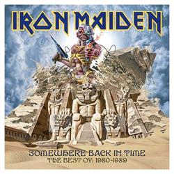 Cover Iron Maiden - Somewhere Back In Time: The Best Of 1980-1988
