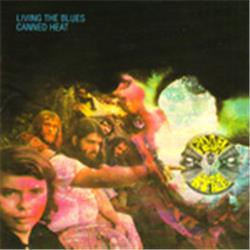 Cover Canned Heat - Living the Blues