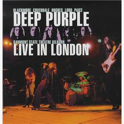 Cover Deep Purple - Live in London