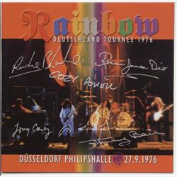 Cover Rainbow - Deutschland Tournee 1976: 1976-09-27, Düsseldorf Philipshalle