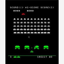 Cover Space Invaders - Videogioco Arcade 1978
