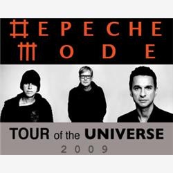 Cover Depeche Mode - Tour of the universe @ San Siro 18.06.2009