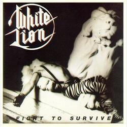 Cover White Lion - Fight To Survive