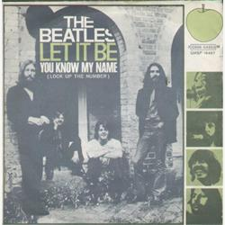 Cover The Beatles - Let It Be/ You Know My Name (Look Up The Number)