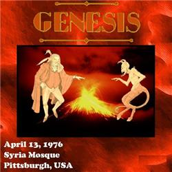 Cover Genesis - Live At Syria Mosque, 1976