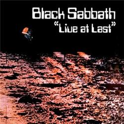 Cover Black Sabbath - Live at Last