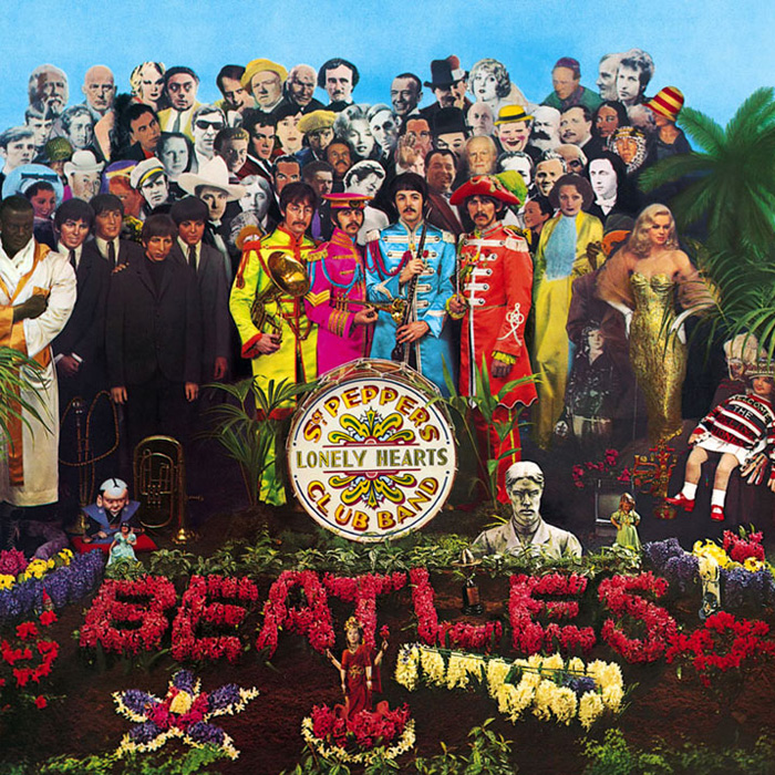 the beatles -sgt pepper's lonely hearts club band