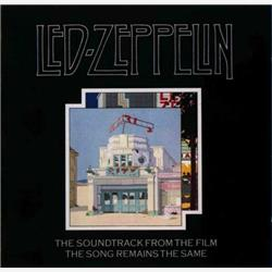 Cover Led Zeppelin - The Soundtrack From The Film The Song Remains The Same