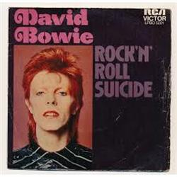 Cover David Bowie - Rock'n'roll suicide