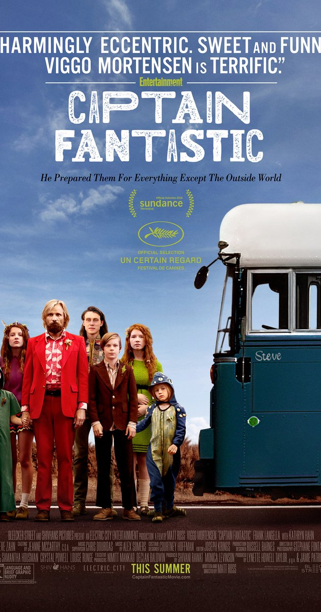Cover di Captain Fantastic