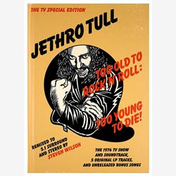 Cover Jethro Tull - Too Old To Rock'N'Roll: Too Young To Die! - The TV Special Edition