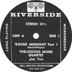 Cover Thelonious Monk - 'Round Midnight