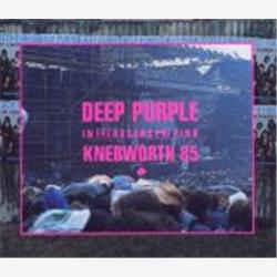 Cover Deep Purple - In the Absence of Pink: Knebworth 85