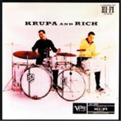 Cover Gene Krupa - Krupa and Rich