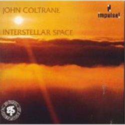 Cover John Coltrane - Interstellar Space