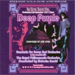 Cover Deep Purple - Concerto for Group and Orchestra (The Royal Philharmonic Orchestra feat. conductor: Malcolm Arnold)