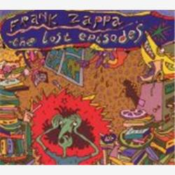 Cover Frank Zappa - The Lost Episodes