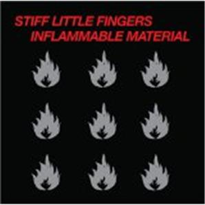 Cover Stiff Little Fingers - Inflammable Material