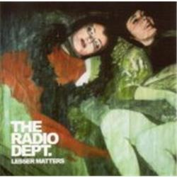 Cover The Radio Dept. - Lesser Matters