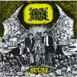 Cover Napalm Death - Scum