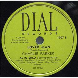 Cover Charlie Parker - Loverman: Hollywood 1946, l'ultimo volo dello sparviero