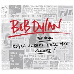 Cover Bob Dylan - The Real Royal Albert Hall 1966 Concert
