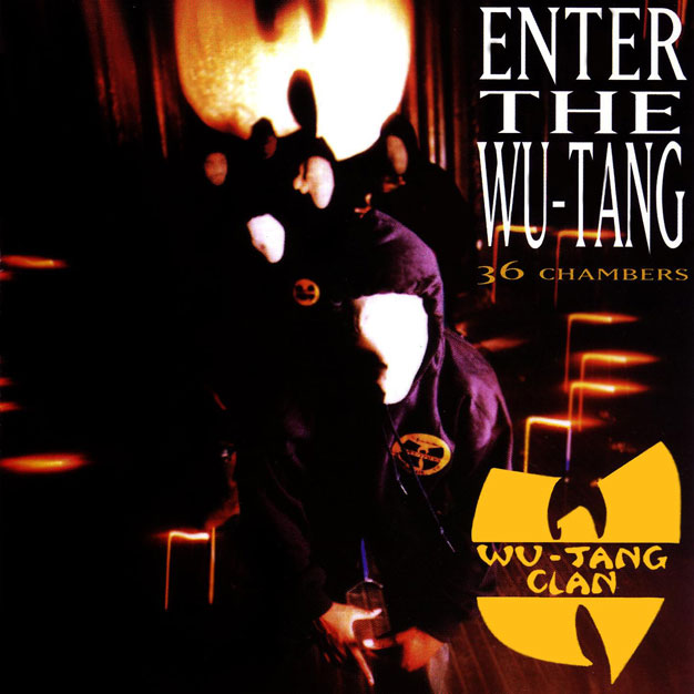 Cover di Enter the Wu-Tang: 36 Chambers