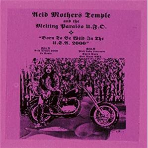 Cover Acid Mothers Temple & The Melting Paraiso U.F.O. - Born to be Wild in the USA 2000
