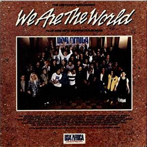Cover U.S.A. for Africa - We Are the World