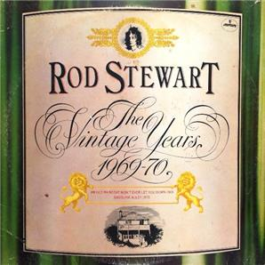 Cover Rod Stewart - The Vintage Years 1969-70