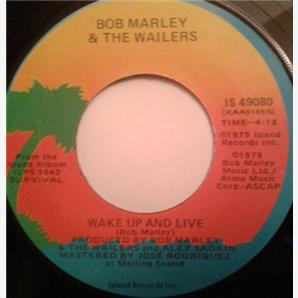Cover Bob Marley & The Wailers - Wake Up and Live