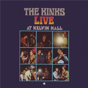 Cover The Kinks - Live at Kelvin Hall