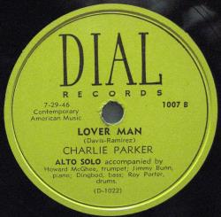 Copertina di Charlie Parker Loverman: Hollywood 1946, l'ultimo volo dello sparviero