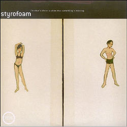 Copertina di Styrofoam I'm What's There To Show That Something's Missing
